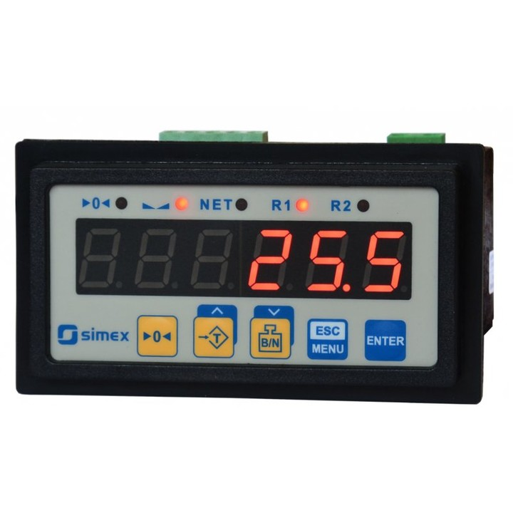 Digital weight meter to load cells SWI-94
