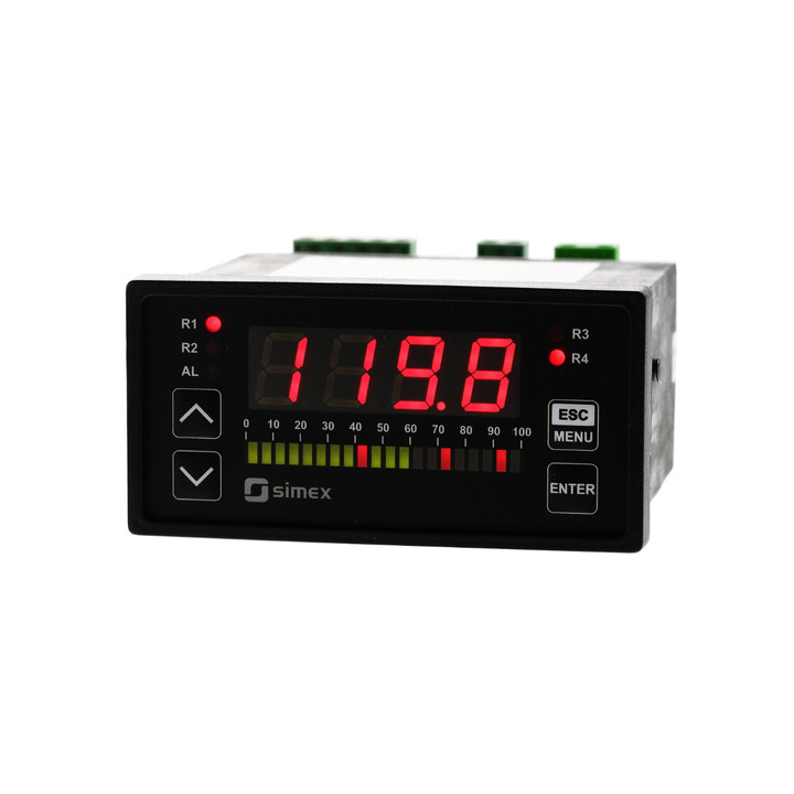 Universal analog input digital panel meter with bargraph SUR-94B