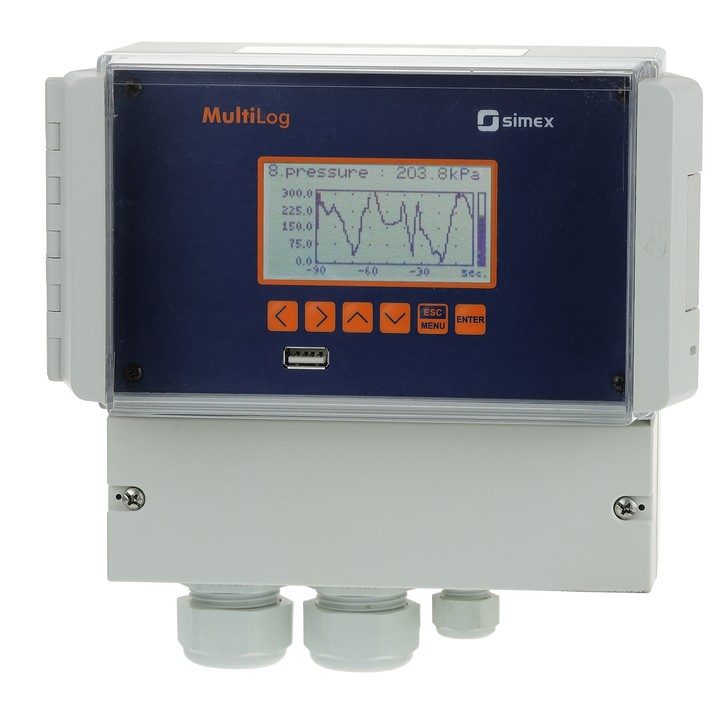 Data logger in wall enclosure SRD-N16